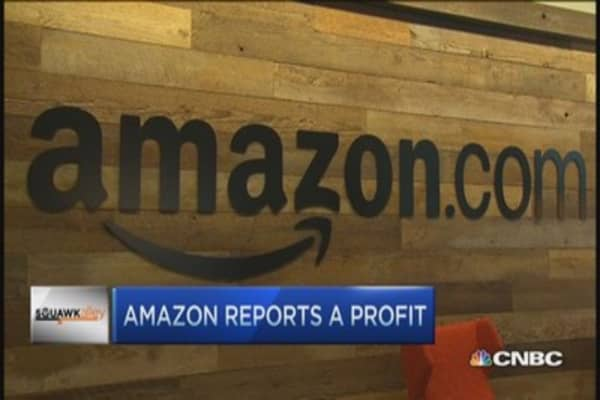 Amazon's profits 'open debate': Pro