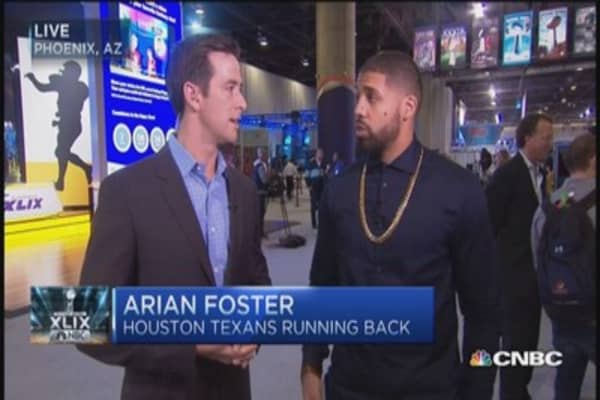 I grew up around domestic violence: Arian Foster
