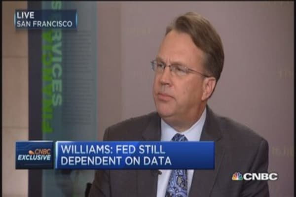 Unemployment at 5% by end of year: Fed's Williams