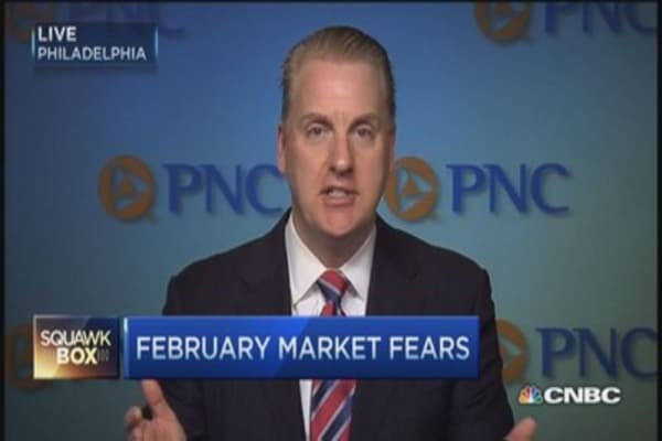 Facing February market fears