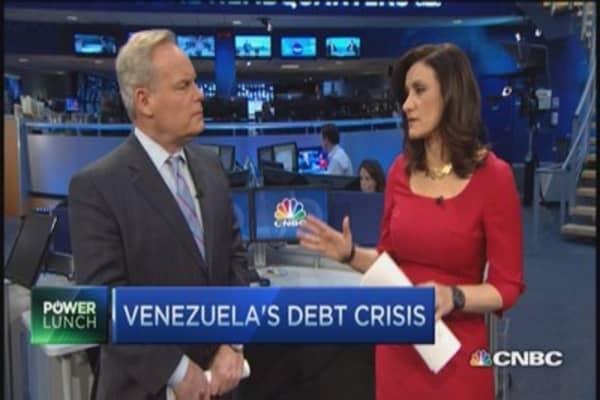 Venezuela's debt crisis