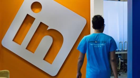 LinkedIn headquarters in Mountain View, California.