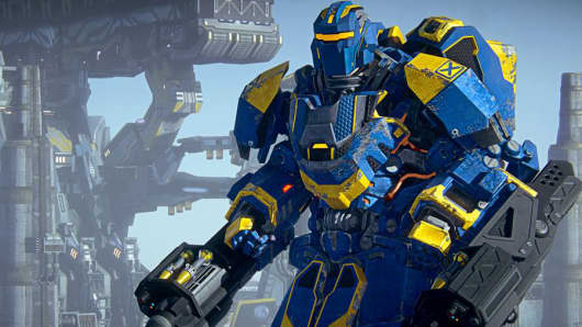 "An image from ""PlanetSide 2."""