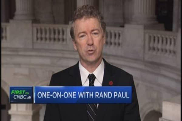 Rand Paul: Vaccines should be voluntary