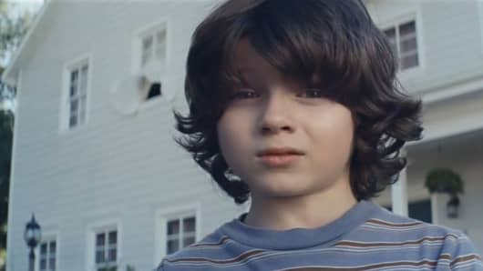 Still from the Nationwide Super Bowl ad.