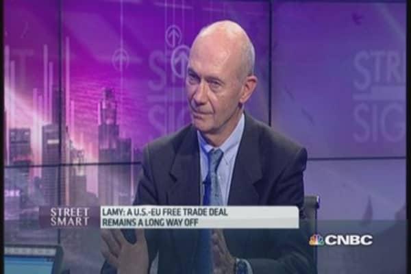 Lamy: 'TTIP is a long haul negotiation'