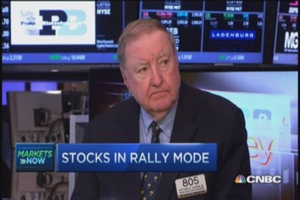 Cashin: Buying heavily influenced by oil