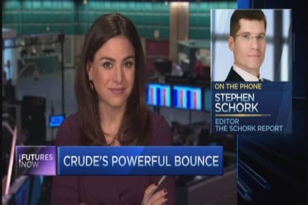 Schork on oil: This is a 'dead cat bounce'