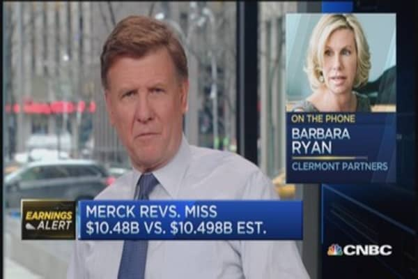Merck reports mixed results