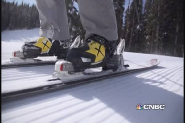 Start-up hopes to take its ski boot to the apex
