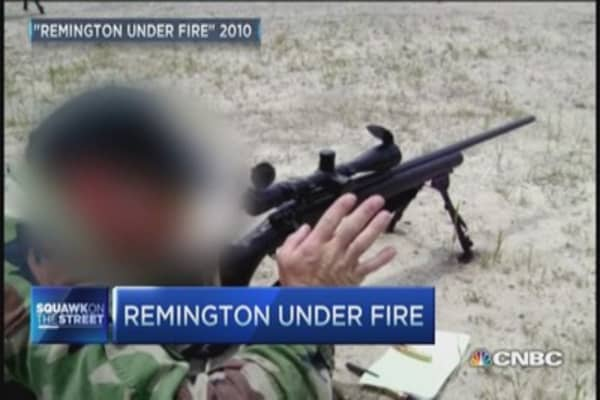 Remington settlement triggers questions