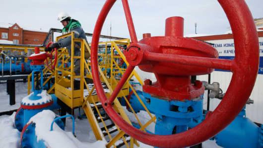 Oil gas Russia