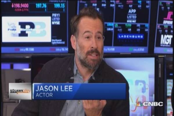 Actor Jason Lee talks new Amazon series