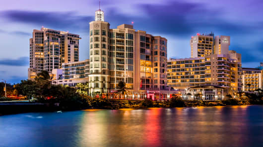 CPG's Paseo Caribe property in Puerto Rico