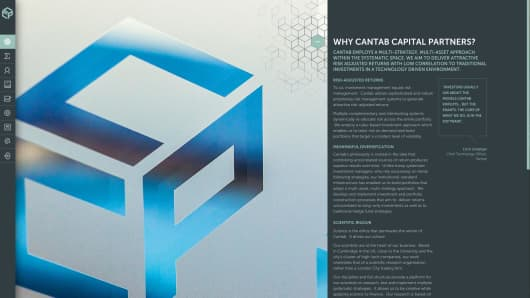 Cantab Capital Partners website