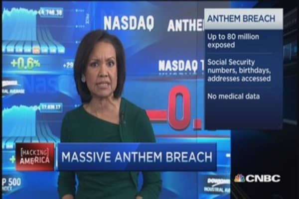 Anthem hack exposes up to 80 million