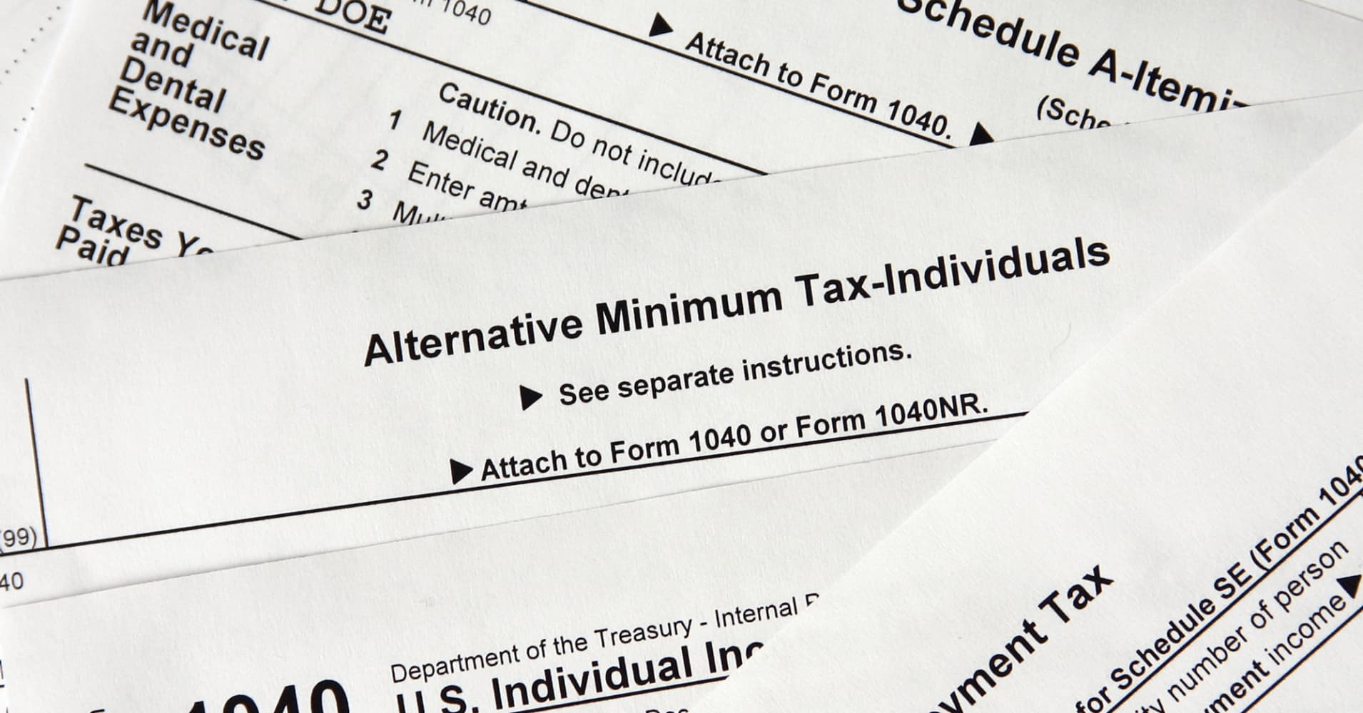 Paying the alternative minimum tax is now unavoidable for many wage earners in high-tax states, but ...