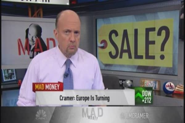 Cramer: How to play European weakness