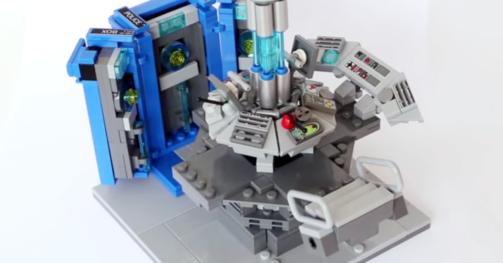 doctor who tardis playset instructions