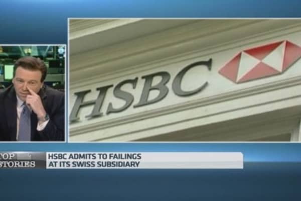HSBC admits Swiss bank failings over client taxes