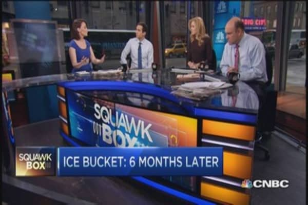 Ice bucket's $115 million challenge