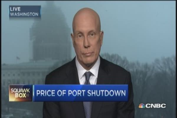 Port shutdown tipping point for retailers?
