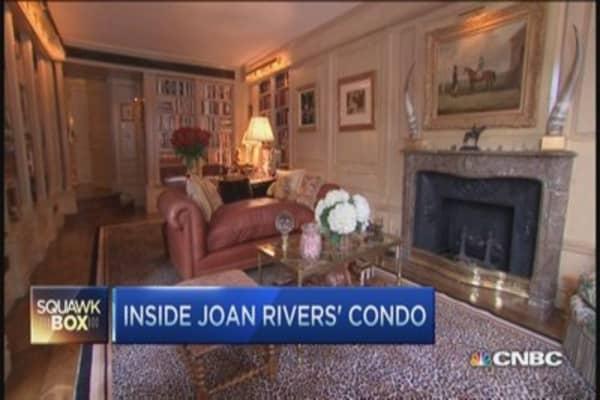 Tour Joan River's $28M penthouse