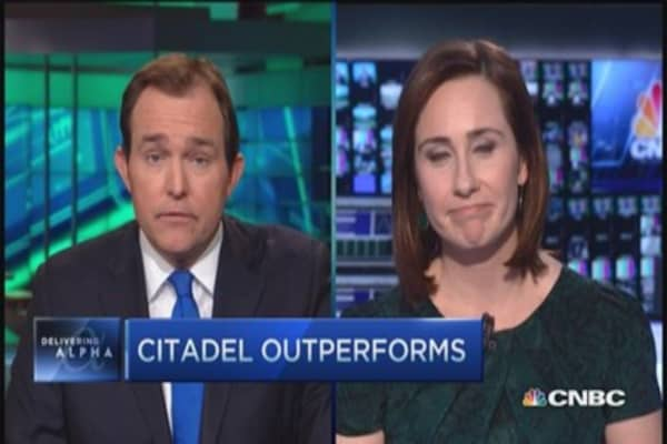 Citadel outperforms