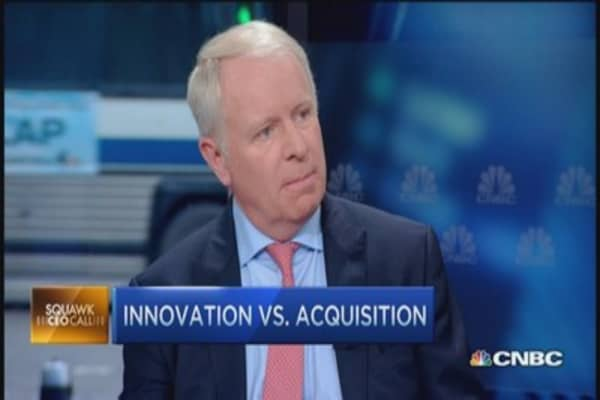 Allergan CEO: Fighting Ackman 'all consuming'