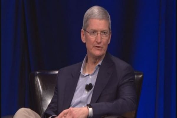 Tim Cook: Partnering with First Solar on solar farm
