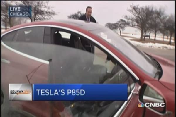 LeBeau tests Tesla's insane mode