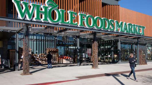 A Whole Foods Market in Oklahoma City, Oklahoma.