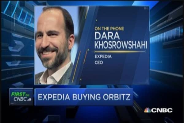 Expedia CEO talks $1.3 billion deal