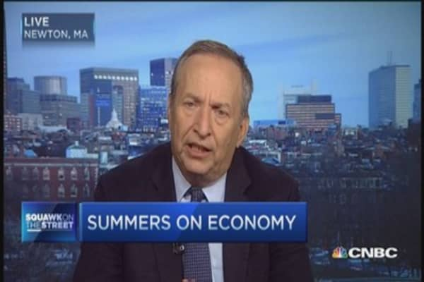 Larry Summers: Not the time for a traditional Fed playbook