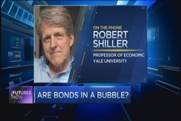 Robert Shiller's warning to fixed income investors