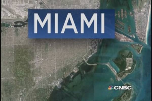 Snapshot of Miami real estate