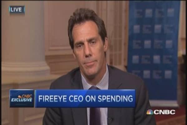 FireEye CEO: Cybersecurity massive market opp