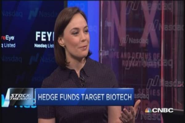 Stock Therapy: Hedge funds target biotech