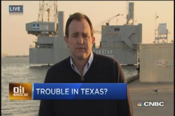 Texas hit hard by oil's decline