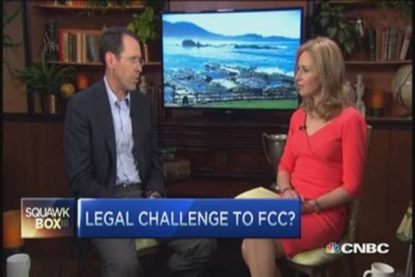 AT&T CEO on FCC's net neutrality plan