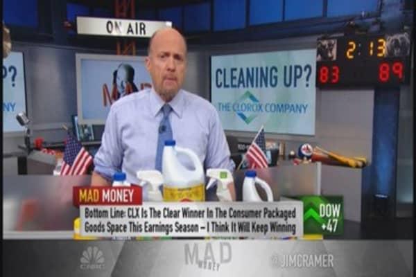 Cramer loves this consumer goods winner