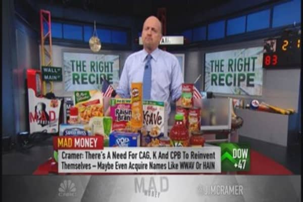 Cramer: These food companies now irrelevant