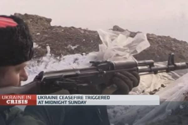 Ukraine-Russia ceasefire 'won't work': Kiev Post
