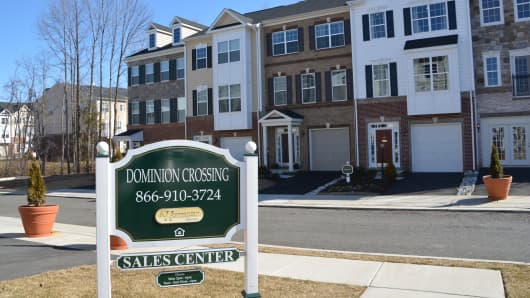"K Hovnanian new townhouse project in Manassas, VA called ""Dominion Crossing""."