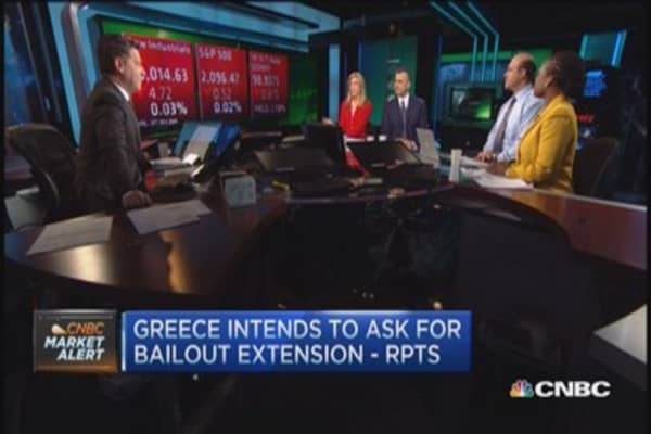 Greece intends to ask for extension: Reports