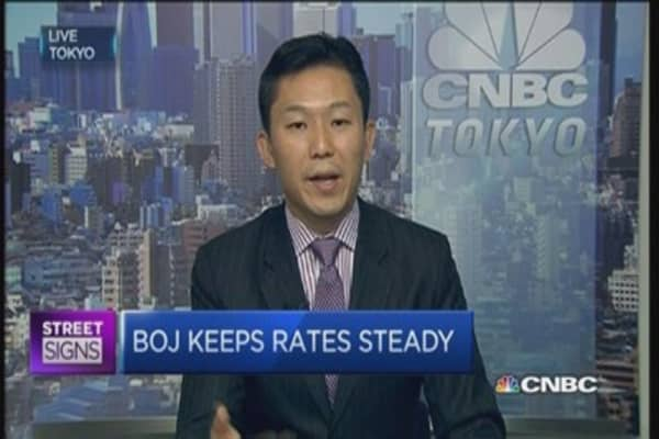 No need for BoJ action: Economist