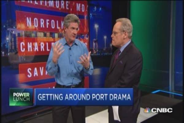 Navigating port drama