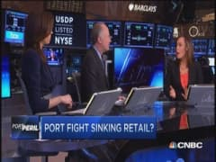 Port fight, retail bite