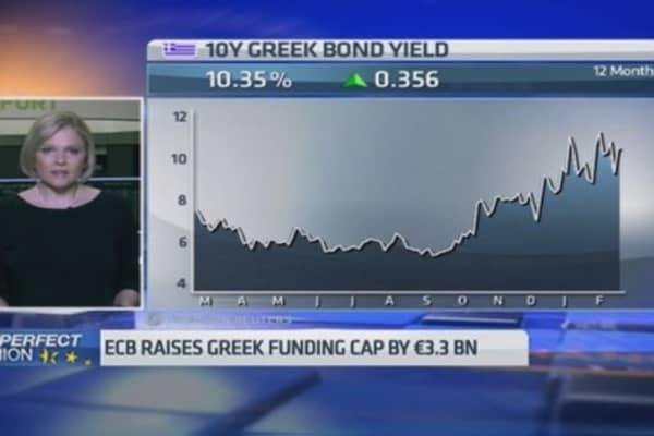 ECB denies talk of Greek capital controls