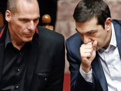 Alexis Tsipras Yanis Varoufakis Greece EU
